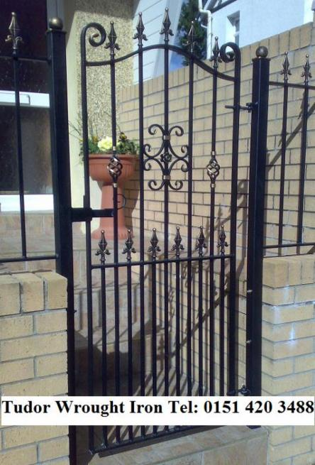 SIDE GATESSECURITY GATES Wwwtudorwroughtironcom