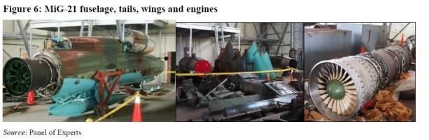 Partes MiG - 21