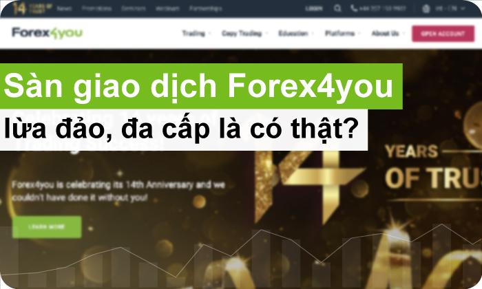 sàn giao dịch forex forex4you