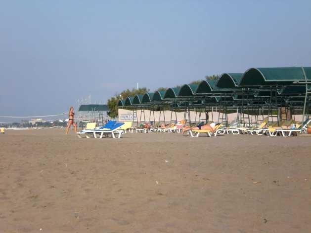 Am Strand des Papillon Belvil