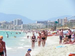 An der Playa de Palma