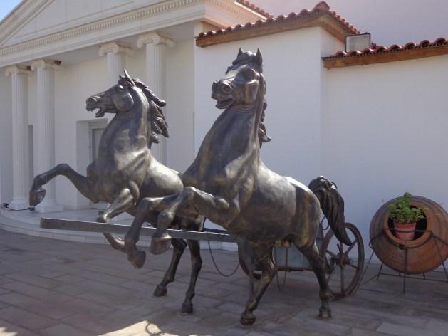 Kampfwagen im Paloma Club Sultan