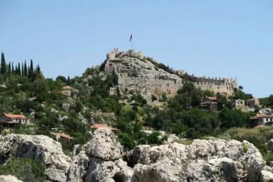 Foto der Burg Kaleköy.