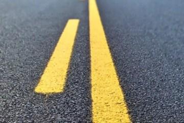 Nahaufnahme einer Straße
