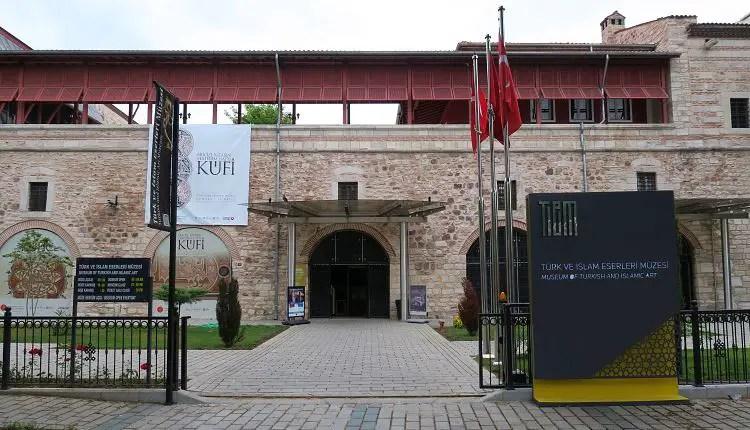 Eingang des Museum.