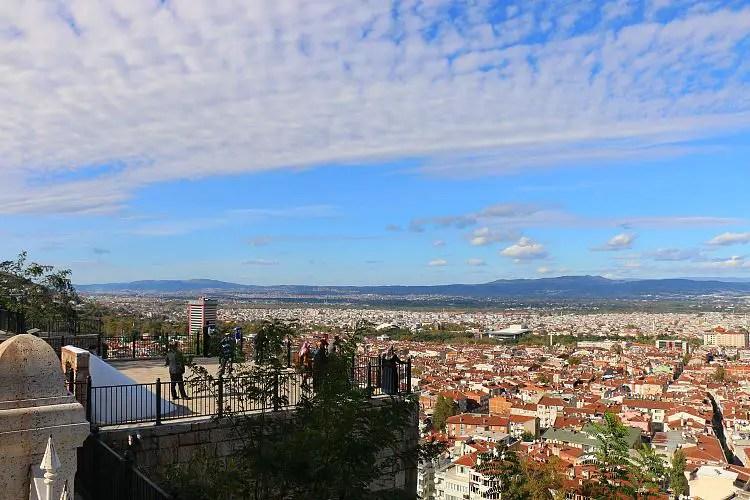 Ausblick auf die Stadt Bursa