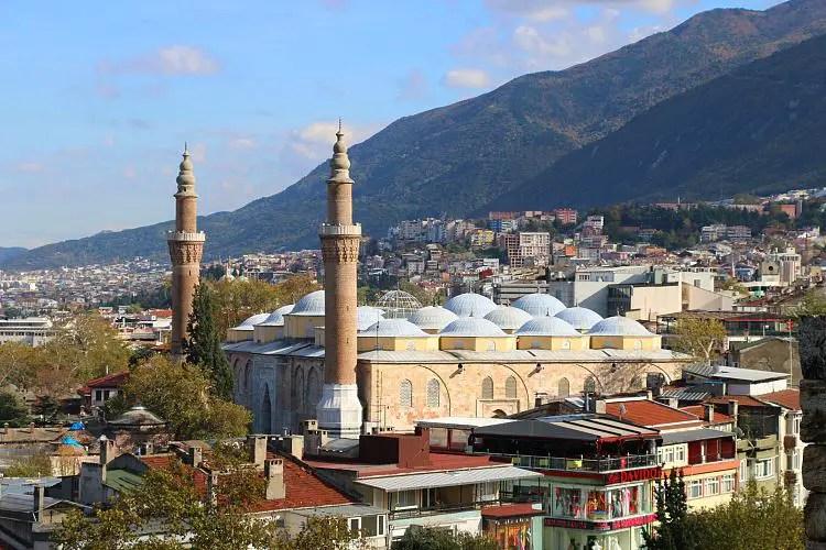 Ulu Camii und der Uludag