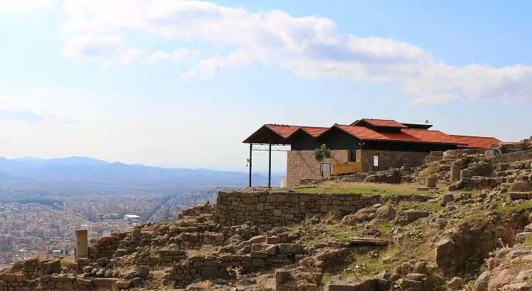 Haus zum Schutz von Ausgrabungsfunden