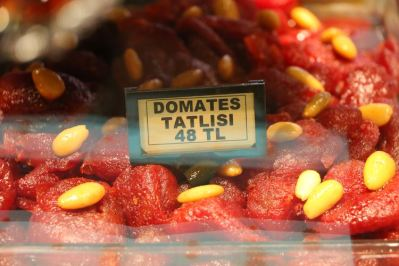 Kandierte Tomaten