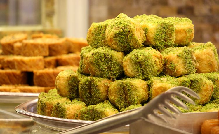 Baklava und andere türkische Süßigkeiten