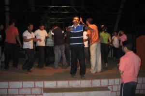 Shishir, um, dancing?