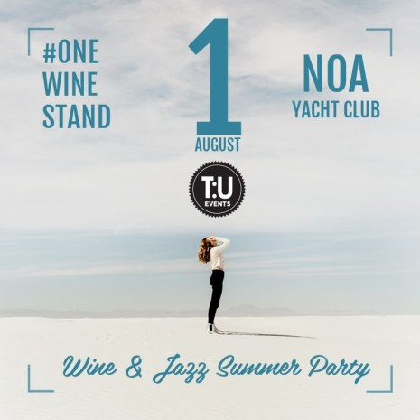 One Wine Stand – NOA Yacht Club