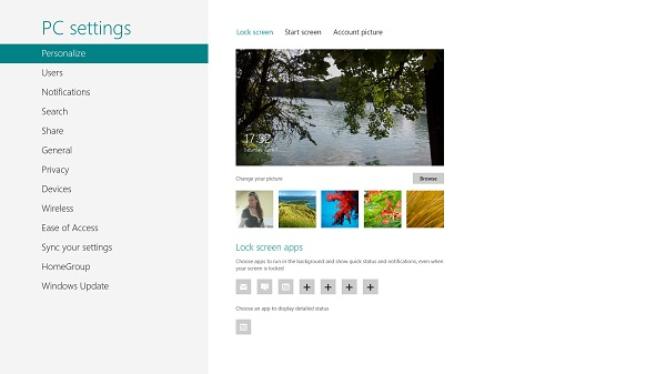 Personalizar la interfaz Metro de Windows 8