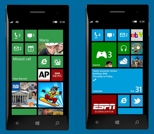 Captura Windows Phone