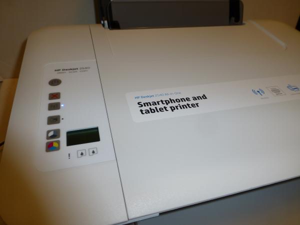 Hp Deskjet 2540 Probamos Esta Impresora Con Wifi