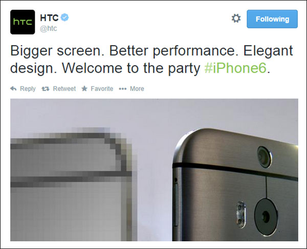 HTC iPhone 6