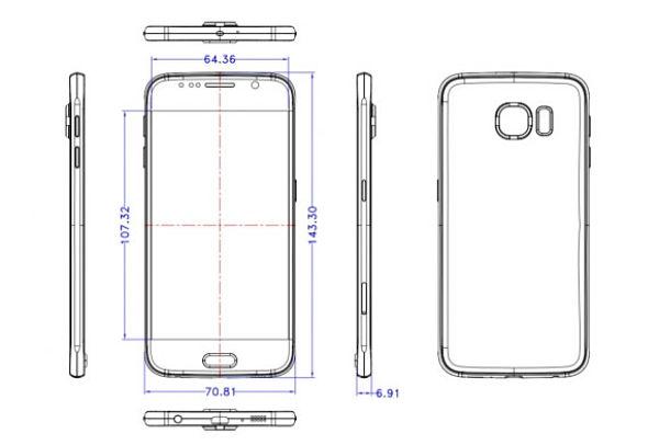 Permalink to La cámara del Samsung Galaxy S6 sobresaldría por la carcasa trasera