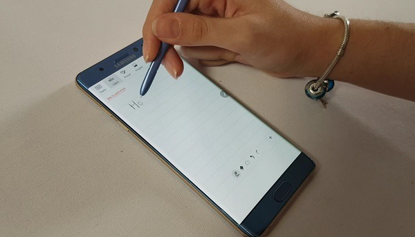 samsung galaxy note 7 funciones S Pen crear nota