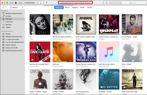 Música en iTunes