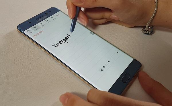 Samsung galaxy note 7 s pen
