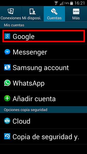 como pasar contactos de android a iphone gmail
