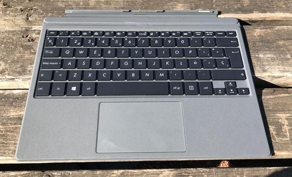 analisis asus transformer 3 pro teclado