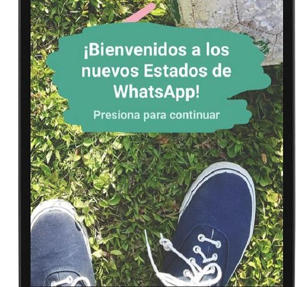 Cómo hacer una captura de pantalla de un estado de WhatsApp