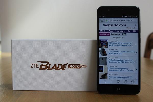 ZTE Blade A610 Plus, lo hemos probado