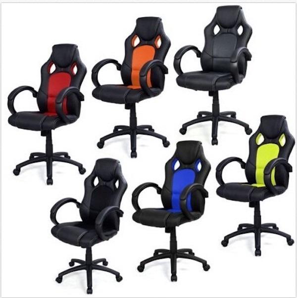 5 sillas para gamers y sillas de oficina con descuento