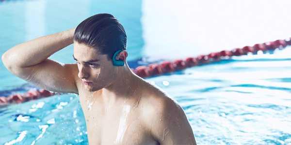 Sony walkmann piscina