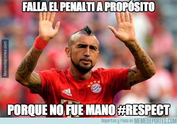 Bayern vs Real Madrid: Arturo Vidal