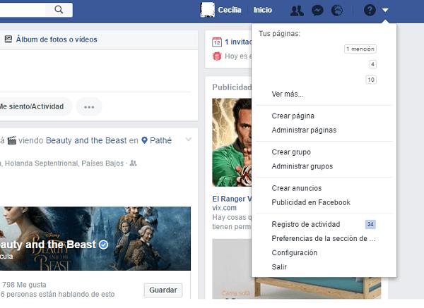 como ven mi facebook