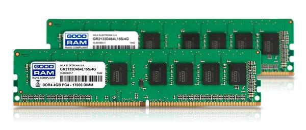 GOODRAM DDR4 verde doble