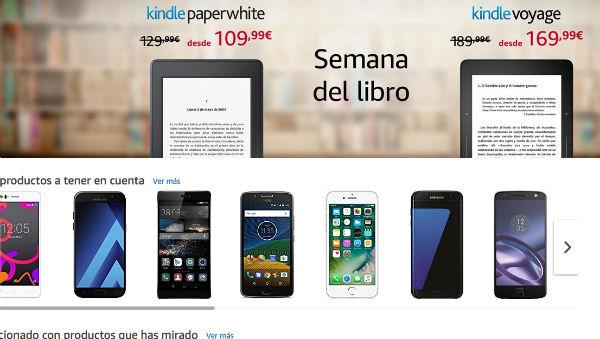 Amazon rebaja artos de sus Kindles por el Día del Libro