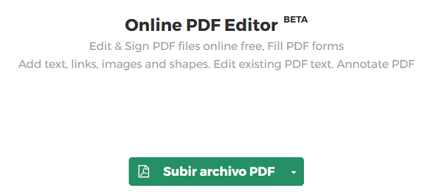 Online PDF(Acrobat) Editor