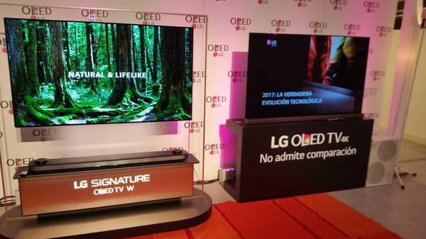 LG OLED 2 gamas