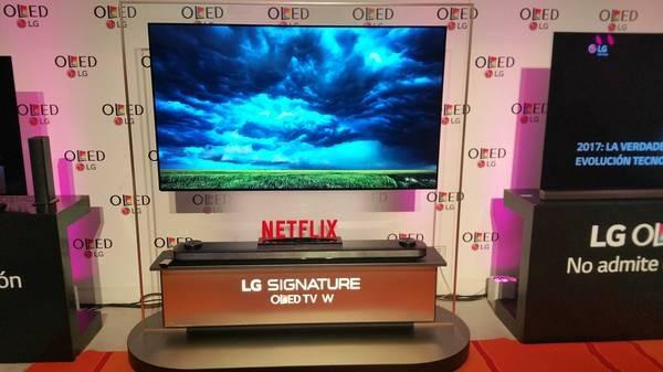 Televisores LG OLED 4K 2017, ya a la venta en España