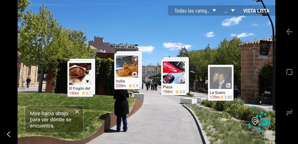 Samsung Galaxy℗ S8 realidad aumentada bixby