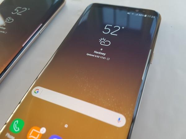 El Samsung Galaxy S8 supera al iPhone siete en un test de velocidad