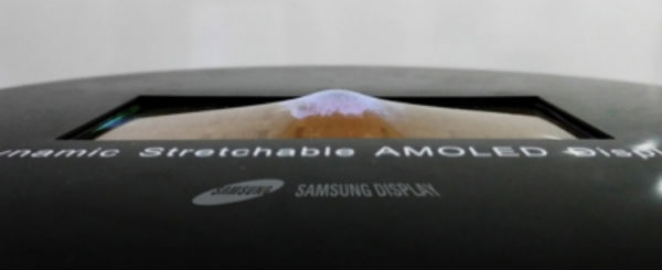 Samsung prueba en vídeo su inicial pantalla elástica