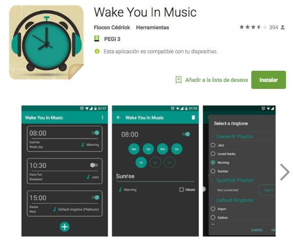 Wake You In Music