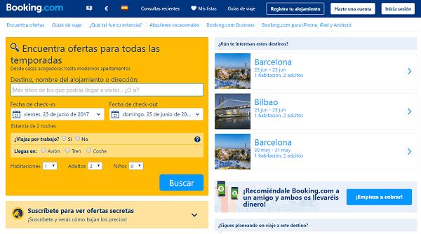 web booking.com