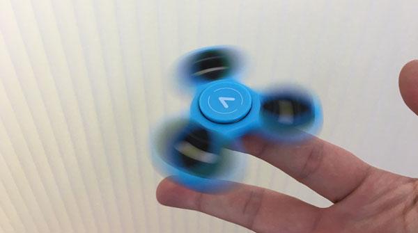 Fidget Spinner dedo