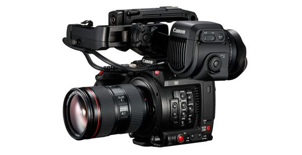 Canon EOS C200, cine profesional 4K compatible con grabación RAW