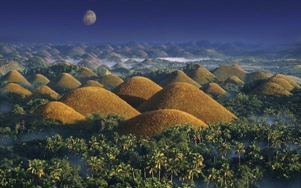 montañas de chocolate filipinas