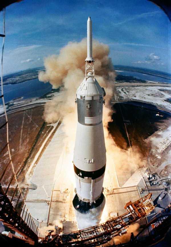 Despegue Apollo 11 1969 NASA
