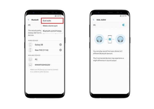Samsung Galaxy℗ S8 sonido