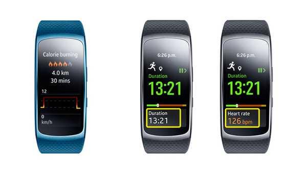 Samsung Gear Fit2 resumenes