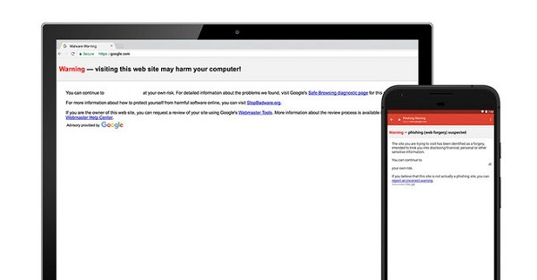 Una actualización de seguridad que bloquea el phishing