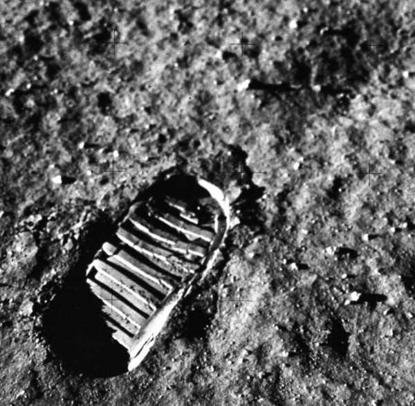 Huella en la Luna 1969